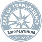 seal of transparency 2019 platinum guide star