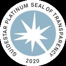 guidestar platinum seal of transparency 2020