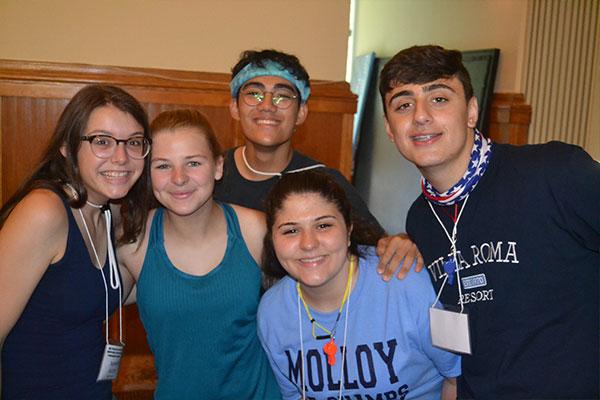 molloy freshmen campers