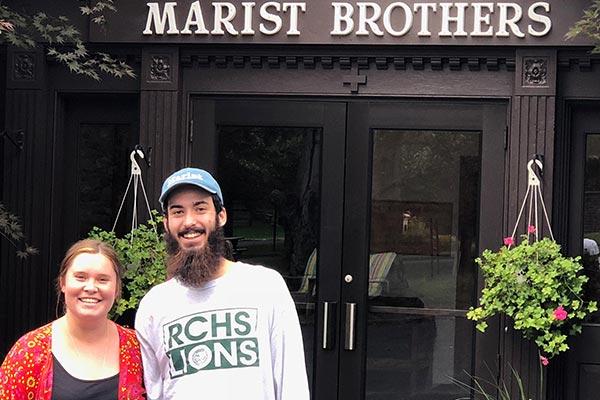 Marist brother volunteers