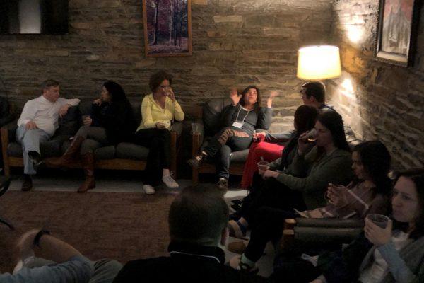 retreats group socializing