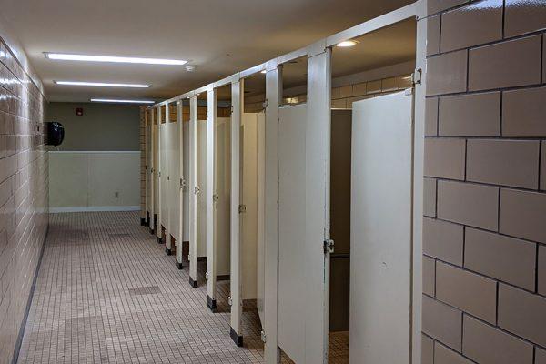 Dorm Bathrooms - Main House