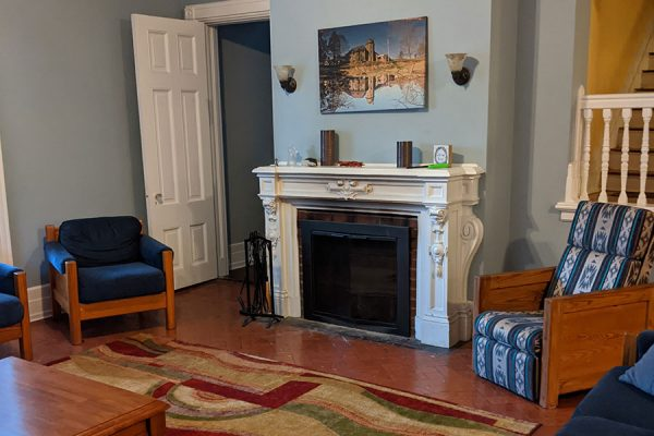Fireplace Room - Holy Rosary