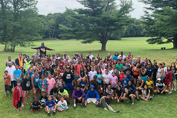 Sacred Heart Camp Group Photo